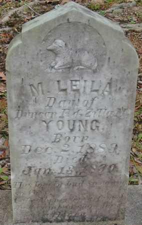 YOUNG, M LEILA - Tangipahoa County, Louisiana | M LEILA YOUNG - Louisiana Gravestone Photos