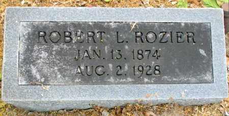 ROZIER, ROBERT L - Tensas County, Louisiana   ROBERT L ROZIER - Louisiana Gravestone Photos