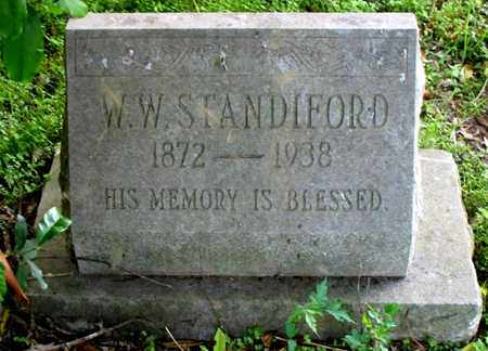 STANDIFORD, WILIAM WADDLE - Tensas County, Louisiana | WILIAM WADDLE STANDIFORD - Louisiana Gravestone Photos