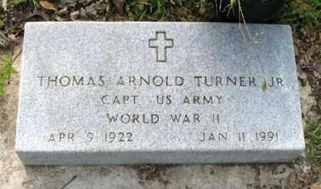 TURNER, THOMAS ARNOLD, JR (VETERAN WWII) - Tensas County, Louisiana | THOMAS ARNOLD, JR (VETERAN WWII) TURNER - Louisiana Gravestone Photos