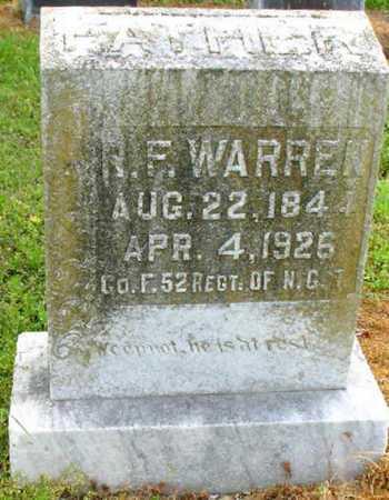 WARREN, ROBERT  F (VETERAN CSA) - Tensas County, Louisiana   ROBERT  F (VETERAN CSA) WARREN - Louisiana Gravestone Photos