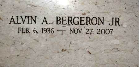 BERGERON, ALVIN A,JR - Terrebonne County, Louisiana | ALVIN A,JR BERGERON - Louisiana Gravestone Photos