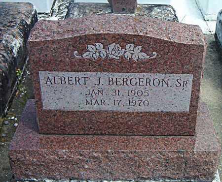 BERGERON, ALBERT J,SR - Terrebonne County, Louisiana   ALBERT J,SR BERGERON - Louisiana Gravestone Photos
