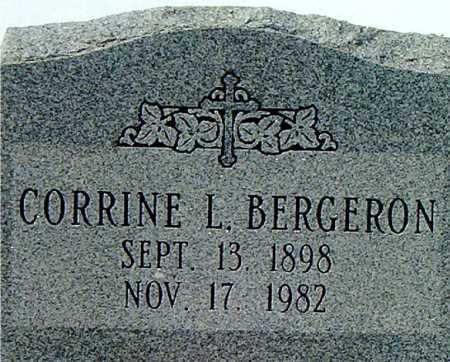 BERGERON, CORRINE L - Terrebonne County, Louisiana | CORRINE L BERGERON - Louisiana Gravestone Photos