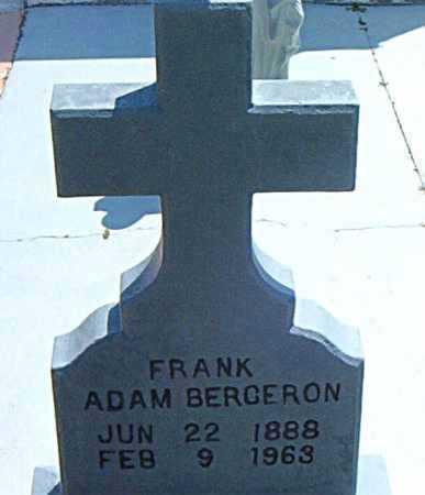 BERGERON, FRANK ADAM - Terrebonne County, Louisiana   FRANK ADAM BERGERON - Louisiana Gravestone Photos