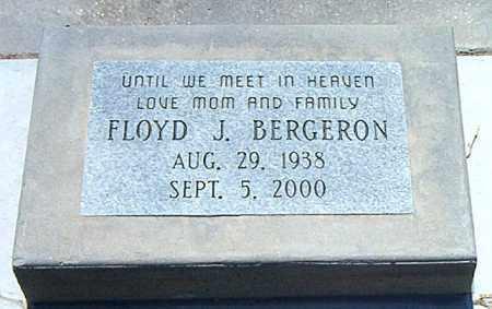 BERGERON, FLOYD J - Terrebonne County, Louisiana   FLOYD J BERGERON - Louisiana Gravestone Photos