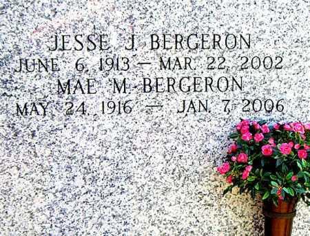 BERGERON, MAE M - Terrebonne County, Louisiana | MAE M BERGERON - Louisiana Gravestone Photos