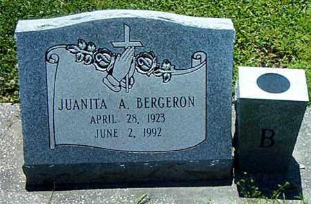 BERGERON, JUANITA A - Terrebonne County, Louisiana   JUANITA A BERGERON - Louisiana Gravestone Photos