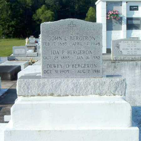 BERGERON, DEWEY O - Terrebonne County, Louisiana | DEWEY O BERGERON - Louisiana Gravestone Photos