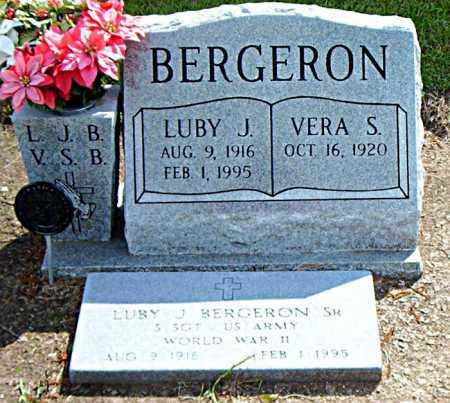 BERGERON, LUBY J - Terrebonne County, Louisiana | LUBY J BERGERON - Louisiana Gravestone Photos