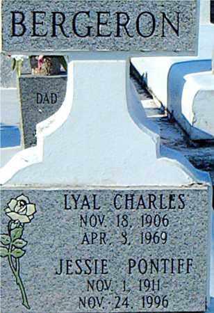 BERGERON, LYAL CHARLES - Terrebonne County, Louisiana   LYAL CHARLES BERGERON - Louisiana Gravestone Photos