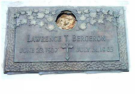 BERGERON, LAWRENCE T - Terrebonne County, Louisiana | LAWRENCE T BERGERON - Louisiana Gravestone Photos