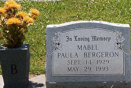 BERGERON, MABLE PAULA - Terrebonne County, Louisiana | MABLE PAULA BERGERON - Louisiana Gravestone Photos