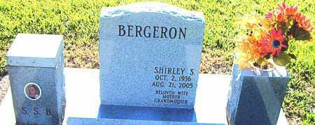 BERGERON, SHIRLEY - Terrebonne County, Louisiana | SHIRLEY BERGERON - Louisiana Gravestone Photos