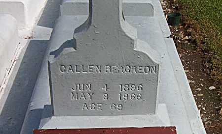BERGERON, CALLEN - Terrebonne County, Louisiana   CALLEN BERGERON - Louisiana Gravestone Photos