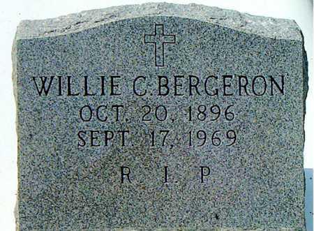 BERGERON, WILLIE C - Terrebonne County, Louisiana   WILLIE C BERGERON - Louisiana Gravestone Photos