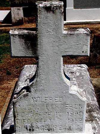 BERGERON, WILFRED - Terrebonne County, Louisiana | WILFRED BERGERON - Louisiana Gravestone Photos