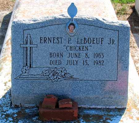 LEBOEUF, ERNEST P,JR - Terrebonne County, Louisiana   ERNEST P,JR LEBOEUF - Louisiana Gravestone Photos