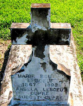 LEBOEUF, MARIE - Terrebonne County, Louisiana | MARIE LEBOEUF - Louisiana Gravestone Photos