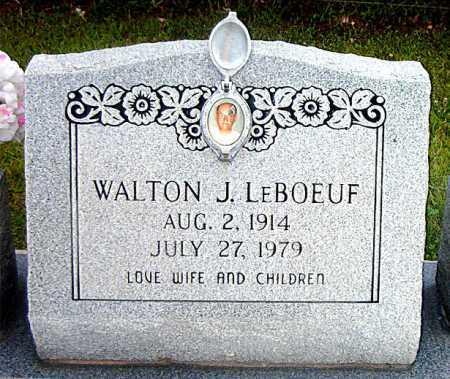 LEBOEUF, WALTON J - Terrebonne County, Louisiana | WALTON J LEBOEUF - Louisiana Gravestone Photos