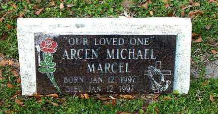 MARCEL, ARCEN MICHAEL - Terrebonne County, Louisiana   ARCEN MICHAEL MARCEL - Louisiana Gravestone Photos