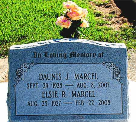 MARCEL, DAUNIS J - Terrebonne County, Louisiana | DAUNIS J MARCEL - Louisiana Gravestone Photos