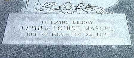 MARCEL, ESTHER LOUISE - Terrebonne County, Louisiana   ESTHER LOUISE MARCEL - Louisiana Gravestone Photos