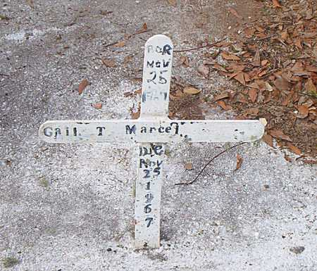 MARCEL, GAIL T - Terrebonne County, Louisiana   GAIL T MARCEL - Louisiana Gravestone Photos