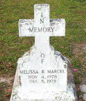 MARCEL, MELISSA R - Terrebonne County, Louisiana | MELISSA R MARCEL - Louisiana Gravestone Photos