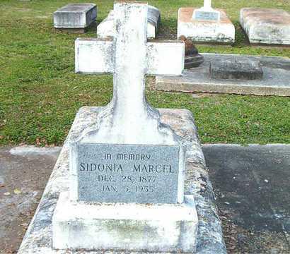 MARCEL, SIDONIA - Terrebonne County, Louisiana | SIDONIA MARCEL - Louisiana Gravestone Photos