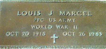MARCEL, LOUIS J (VETERAN WWII) - Terrebonne County, Louisiana   LOUIS J (VETERAN WWII) MARCEL - Louisiana Gravestone Photos