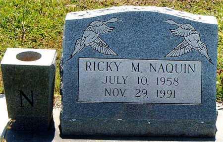 NAQUIN, RICKY M - Terrebonne County, Louisiana | RICKY M NAQUIN - Louisiana Gravestone Photos
