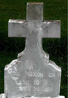 NIXON, VAN, SR - Terrebonne County, Louisiana | VAN, SR NIXON - Louisiana Gravestone Photos