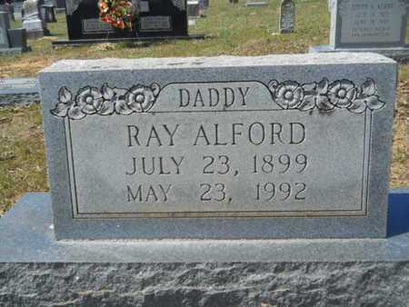 ALFORD, RAY (CLOSE UP) - Union County, Louisiana | RAY (CLOSE UP) ALFORD - Louisiana Gravestone Photos