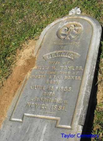 TAYLOR, NANNIE - Union County, Louisiana | NANNIE TAYLOR - Louisiana Gravestone Photos