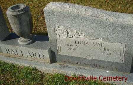 BALLARD, EDNA MAE - Union County, Louisiana   EDNA MAE BALLARD - Louisiana Gravestone Photos