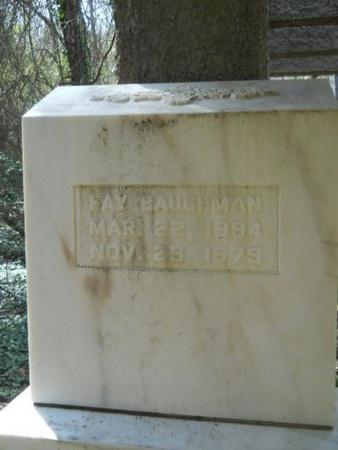 BAUGHMAN, FAY - Union County, Louisiana | FAY BAUGHMAN - Louisiana Gravestone Photos