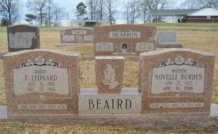 BEAIRD, NOVELLE - Union County, Louisiana | NOVELLE BEAIRD - Louisiana Gravestone Photos