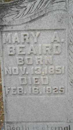 BEAIRD, MARY A (CLOSE UP) - Union County, Louisiana | MARY A (CLOSE UP) BEAIRD - Louisiana Gravestone Photos