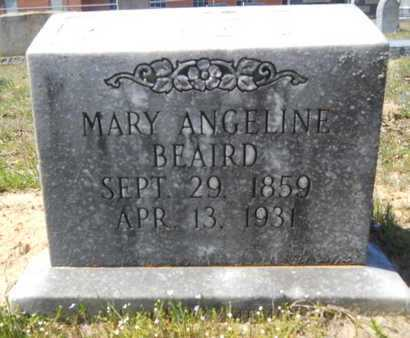 BEAIRD, MARY ANGELINE - Union County, Louisiana | MARY ANGELINE BEAIRD - Louisiana Gravestone Photos