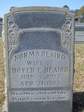 BEAIRD, NORMA - Union County, Louisiana | NORMA BEAIRD - Louisiana Gravestone Photos