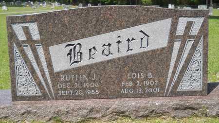 BEAIRD, RUFFIN J - Union County, Louisiana   RUFFIN J BEAIRD - Louisiana Gravestone Photos