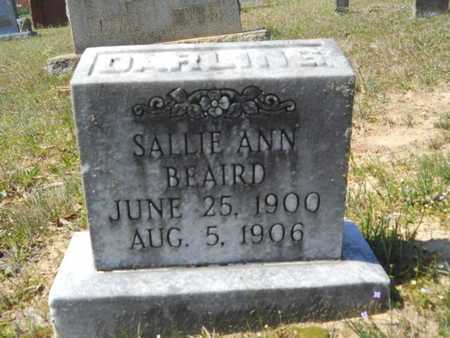BEAIRD, SALLIE ANN - Union County, Louisiana   SALLIE ANN BEAIRD - Louisiana Gravestone Photos