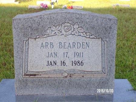 BEARDEN, ARVIE ARB - Union County, Louisiana   ARVIE ARB BEARDEN - Louisiana Gravestone Photos