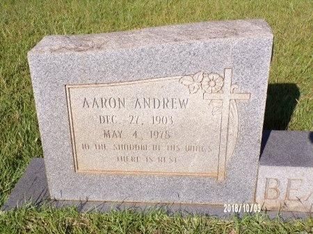 BEARDEN, AARON ANDREW (CLOSE UP) - Union County, Louisiana | AARON ANDREW (CLOSE UP) BEARDEN - Louisiana Gravestone Photos