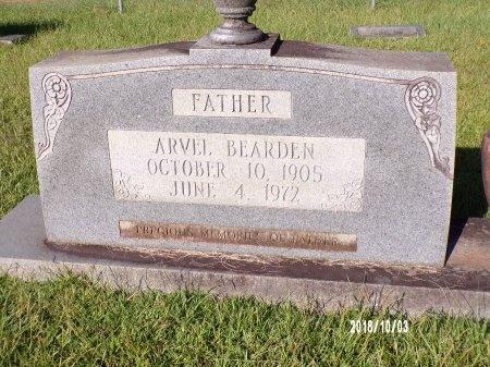 BEARDEN, ARVEL - Union County, Louisiana   ARVEL BEARDEN - Louisiana Gravestone Photos