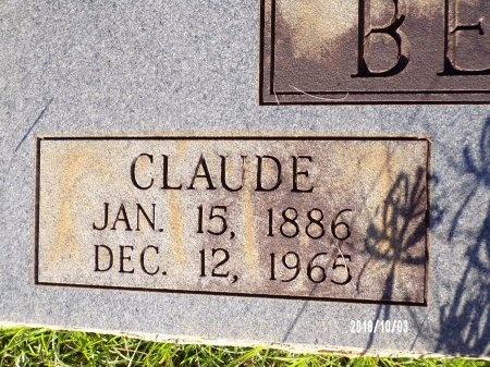BEARDEN, CLAUDE (CLOSE UP) - Union County, Louisiana   CLAUDE (CLOSE UP) BEARDEN - Louisiana Gravestone Photos