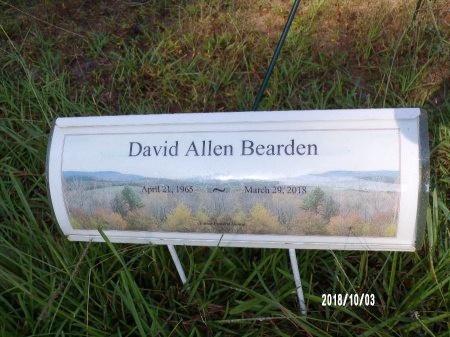 BEARDEN, DAVID ALLEN (OBIT) - Union County, Louisiana   DAVID ALLEN (OBIT) BEARDEN - Louisiana Gravestone Photos