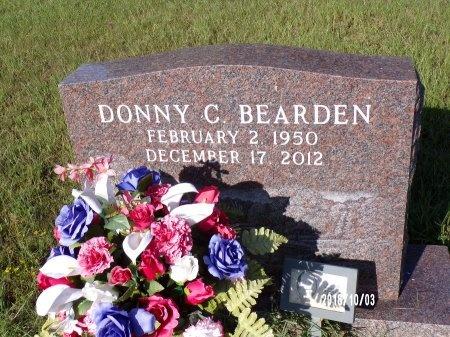 BEARDEN, DONNY C - Union County, Louisiana | DONNY C BEARDEN - Louisiana Gravestone Photos