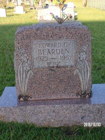 BEARDEN, EDWARD GLADON - Union County, Louisiana   EDWARD GLADON BEARDEN - Louisiana Gravestone Photos